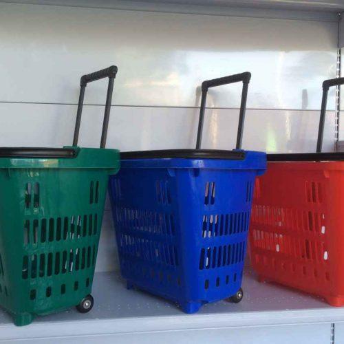canasto con ruedas 3 colores